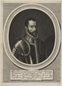 Pontus de la Gardie. Gravüür aastast 1654, Jeremias Falck