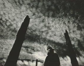 Foto: Peep Puks. Tuul III / Wind III. 1972. Hõbeželatiinfoto / Silver gelatin print. 59 x 44 cm.