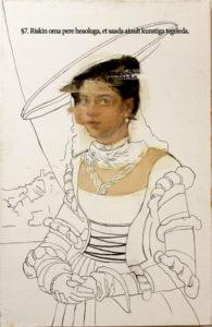 """Olesja Katšanovskaja-Mündi näitus <b>""""КULTUURITOLM""""</b> Tallinna vene muuseumis 1.09-29.12."""